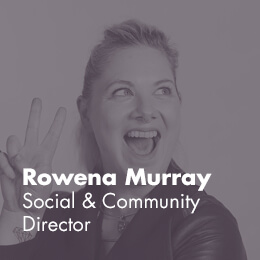 Rowena Wallace - Social & Community Manager