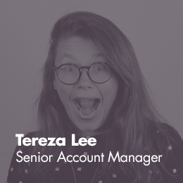 Tereza Lee - Senior Account Manager