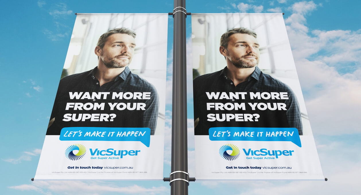 VicSuper Let's Make it Happen Campaign