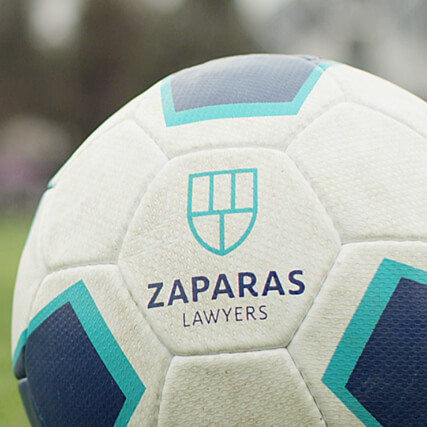 Zaparas Lawyers: Soccer Sponsorship Videos